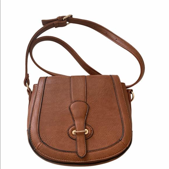 Crossbody brown bag